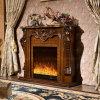 Meubles électriques d'hôtel de cheminée de chaufferette d'éclairage LED de meubles antiques (325)