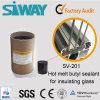 Hot Melt Siway Butyl produit d'étanchéité pour joint de double vitrage isolant Windows