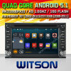 Carro DVD do Android 5.1 de Witson para Peugeot 307 (2002-2010) (W2-F9900P)