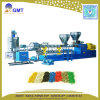 Plastique réutilisant la machine de granulation à deux étages de production de PP/PE