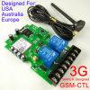 Controlador Ctl GSM-3G Vesion doble grande de la energía del relé Outptu