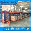 Racking de aço do armazenamento resistente industrial do armazém