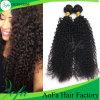 Parrucca crespa mongola di tessitura dei capelli ricci di estensione dei capelli umani