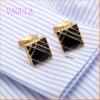 VAGULA 새로운 Arriaval 금에 의하여 도금되는 커프스 단추 고품질 팔목
