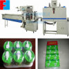 Máquina automática del abrigo del encogimiento para el rectángulo de la leche, tazón de fuente, tallarines de taza