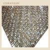 24*40 Hot Fix Rhinestone Mesh, cristal strass Feuille adhésive