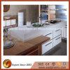 Bancada da cozinha da pedra de quartzo do projeto moderno