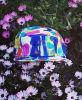 Sombrero del casquillo del campista de la flor del algodón de los 5 paneles con la parte posterior de la correa