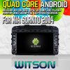 Witson S160 для игрока 2014 автомобиля DVD GPS KIA Sornto с типуном Зеркал-Соединения экрана 16GB внезапным 1080P WiFi 3G передним DVR DVB-T сердечника HD 1024X600 квада Rk3188 (W2-M442)
