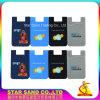 Teléfono móvil Monedero, titular de la ID de la tarjeta de crédito de silicona para móvil