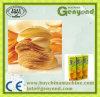 Chaîne de production composée de pommes chips