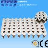Papier filtre plissé v Type (fabrication) , l'Egoza filtres (antiflaming)