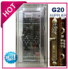 Porte d'acier inoxydable de garantie avec la garniture glaçante dans SUS304 (ES-8079)
