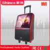 Shinco Fachmann 14 Zoll Laufkatze-Lautsprecher-mit TFT LCD Bildschirm