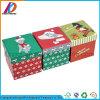 Площади Рождества картона подарочная упаковка с крышкой и нижней части