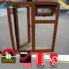 Janela de madeira do Casement do PVC da cor com painel fixo