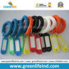 Пластичная бирка Tether W/Name катушки шнура эластичной резиновой ленты