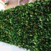 Valla de Jardín de Setos de Boj Artificiales para Paisajismo en Exteriores