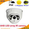 50m LED Array IR Dome 1.3 Megapixel Ahd Camera