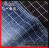 니트 바지를 위한 탄력 있는 연약한 검사 패턴 면 데님 직물