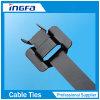 Band van de Kabel van het Roestvrij staal van 316 Rang van pvc de Epoxy Met een laag bedekte Releasable