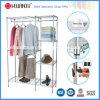 Mobilier de chambre en bricolage Porte-armoire en acier avec couverture en toile T / C