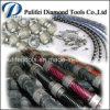 Le fil en plastique de Diamnd de ressort en caoutchouc a vu pour l'extraction en carrière de marbre de granit