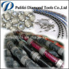 O fio plástico de Diamnd da mola de borracha viu para Quarrying de mármore do granito
