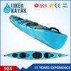 Colorido plástico doble mar canoa profesional kayak de mar para los deportes acuáticos