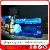 Caixa leve de cristal brilhante do diodo emissor de luz do Signage novo de Digitas