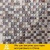 mosaico de piedra de mármol 03 del vidrio cristalino de la mezcla 15X15
