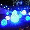 Feriado fora da esfera clara decorativa do Natal da jarda das esferas claras do diodo emissor de luz