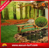 40mm PET 3/8  Anti UVArtificial Grass Turf für Home Decor