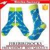 Preiswerte bunte Socken mit kundenspezifischen Kleid-Großhandelssocken