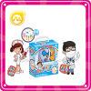 Producto de alta calidad de plástico Juego de imaginación juguete doctor caja del juguete