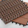 Плитки Decking WPC с деревянным составным настилом в 2017