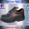 方法浮彫りにされた革ゴム製Soledの安全Shoes/Footwear (GWRU-1011)