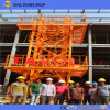 De Chinese Kraan van de Toren van de Lage Prijs Mini van Kraan van de Toren van de Uitrusting van 6 Ton de Hoogste
