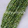 真珠(4mmの緑の淡水の真珠の緩いビード)