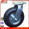 Qualitäts-Hochleistungsschwenker-pneumatisches Fußrollen-Rad