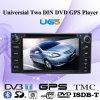 Universial Twee GPS van DIN DVD Speler