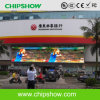 Chipshow P10 che fa pubblicità alla visualizzazione di LED esterna di colore completo