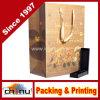 Sac à provisions réutilisé de sac de papier de transporteur de dames pour les vêtements (3226)