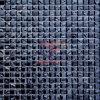 Mozaïek van het Glas van het Titanium van de Decoratie van de muur het Blauwe (TC307)