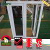 Hohes beständiges UPVC Flügelfenster-Außenausstellfenster des Wetter-