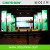 Chipshwo高い定義P10屋内レンタル段階LEDスクリーン