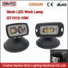 2018 Nuevo montaje empotrado 10W Osram EMC luz LED de trabajo
