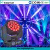 B-Auge K10 beweglicher Kopf der Stadiums-Beleuchtung-19PCS 15W RGBW LED