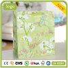 Blumenmuster-Grün-Kleidungs-tägliches Notwendigkeits-Verzierung-Geschenk-Papierbeutel