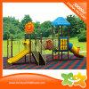 El equipo al aire libre del juego del lugar de los niños embroma las diapositivas para el parque